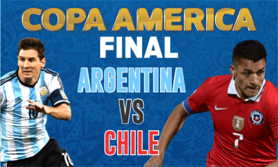 Argentina and Chile will lock horns in the 2016 Copa America Final