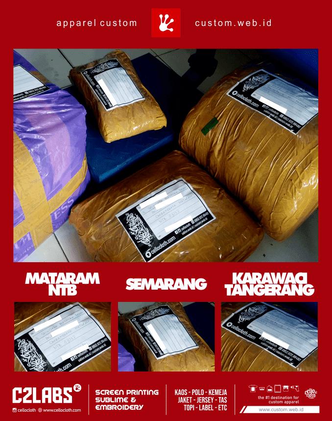 Kirim Paket dari Jogja ke Mataram NTB - Surabaya - Tangerang - CelloshipCC