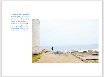 a page excerpt from our upcoming book CAPECOAST