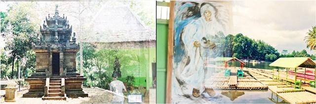 Objek Wisata Candi Cangkuang Garut Terbaru