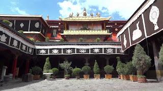 Jokhang Monastery in Lhasa