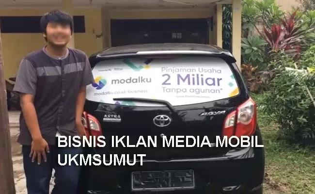 Bisnis Jasa Pasang Iklan Mobil Sebagai Media Promosi dan Branding