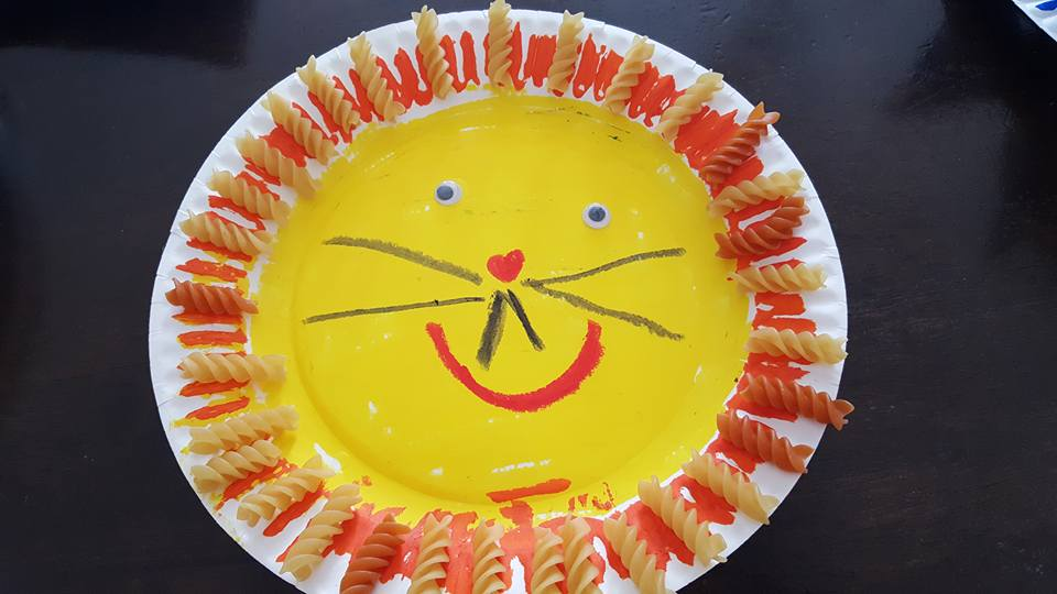 Paper Plate Lion Craft & Sweet Silly Sara: Paper Plate Lion Craft