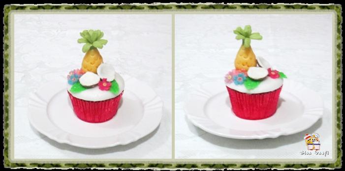 Cupcake pina colada 2