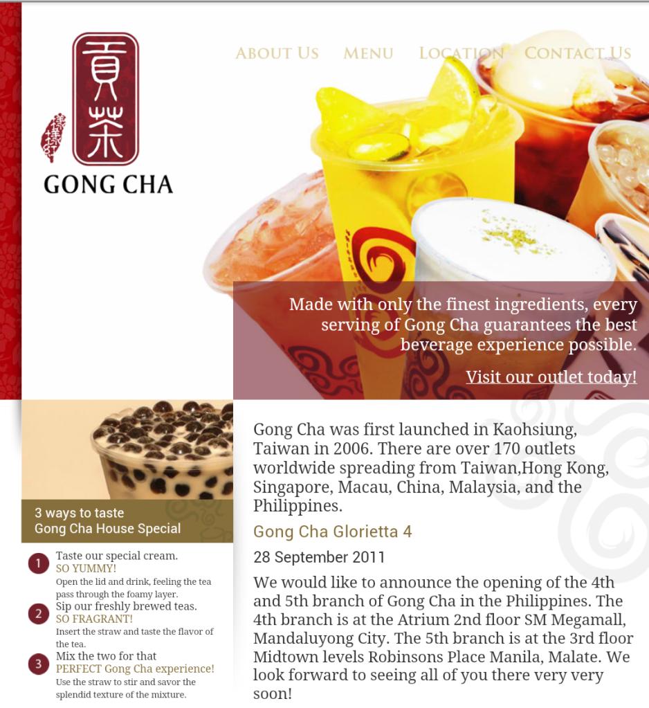 Gong cha whitespace marketing plan