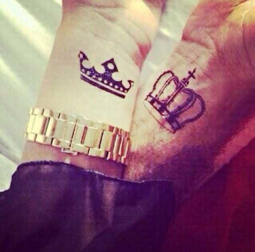 Estes real tatuagens de pulso