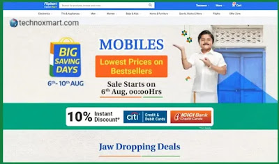 Flipkart Big Saving Days To Go Live From September 18, Allow You To Pre-book Items At Re. 1