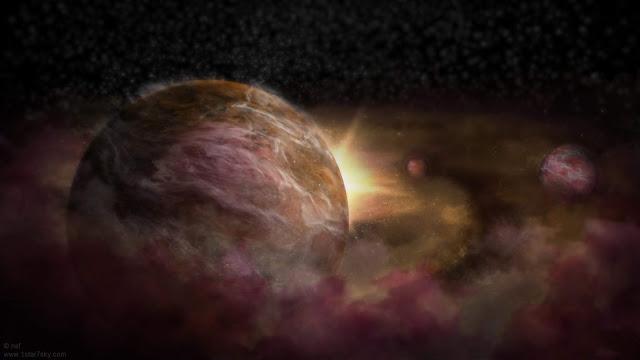 """کشف سه """"سیاره"""" نوزاد پیرامون یک """"ستاره"""" نوزاد"""