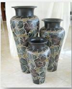 Botol cat ukir sangat antik untuk interior rumah maupun taman depan rumah