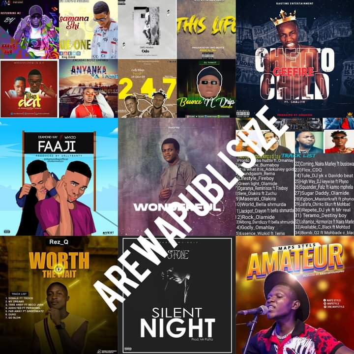 [Music Chart] Arewapublisize top 15 songs for May / june 2021 - Hosted by Hypeman vizzy #Arewapublisize