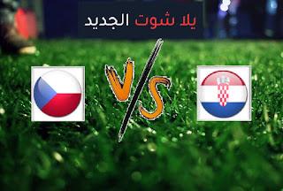 نتيجة مباراة كرواتيا وجمهورية التشيك اليوم الجمعة 18-06-2021 يورو 2020