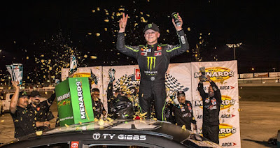 Ty Gibbs Charges To Victory At Toledo Speedway