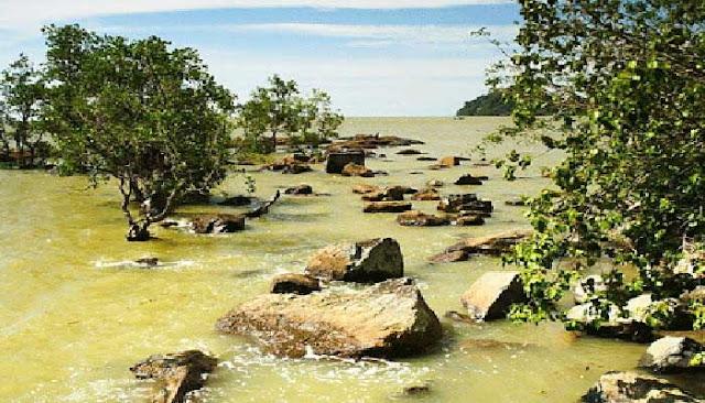 Pantai Bukit Raya Putri Serai