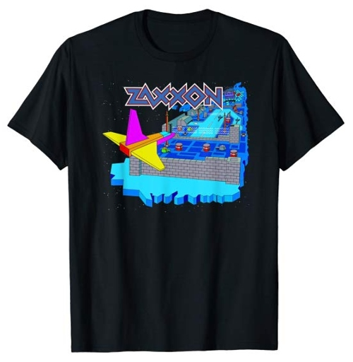 JAN 19 - ZAXXON T-shirts - Pay homage to the classic 1982 video game with a stylish T-shirt.