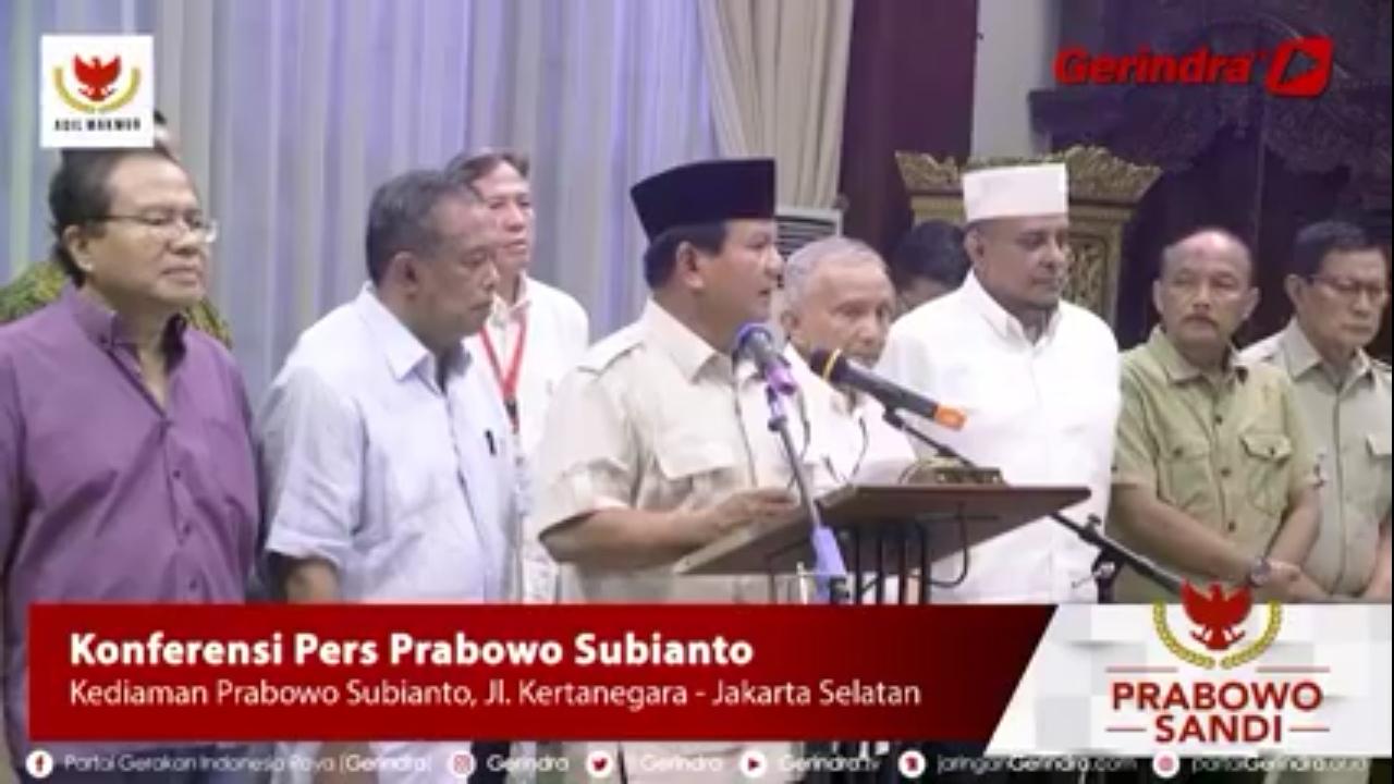 Terus Diprovokasi, Ini Instruksi Terbaru Prabowo kepada Relawan dan Pendukung