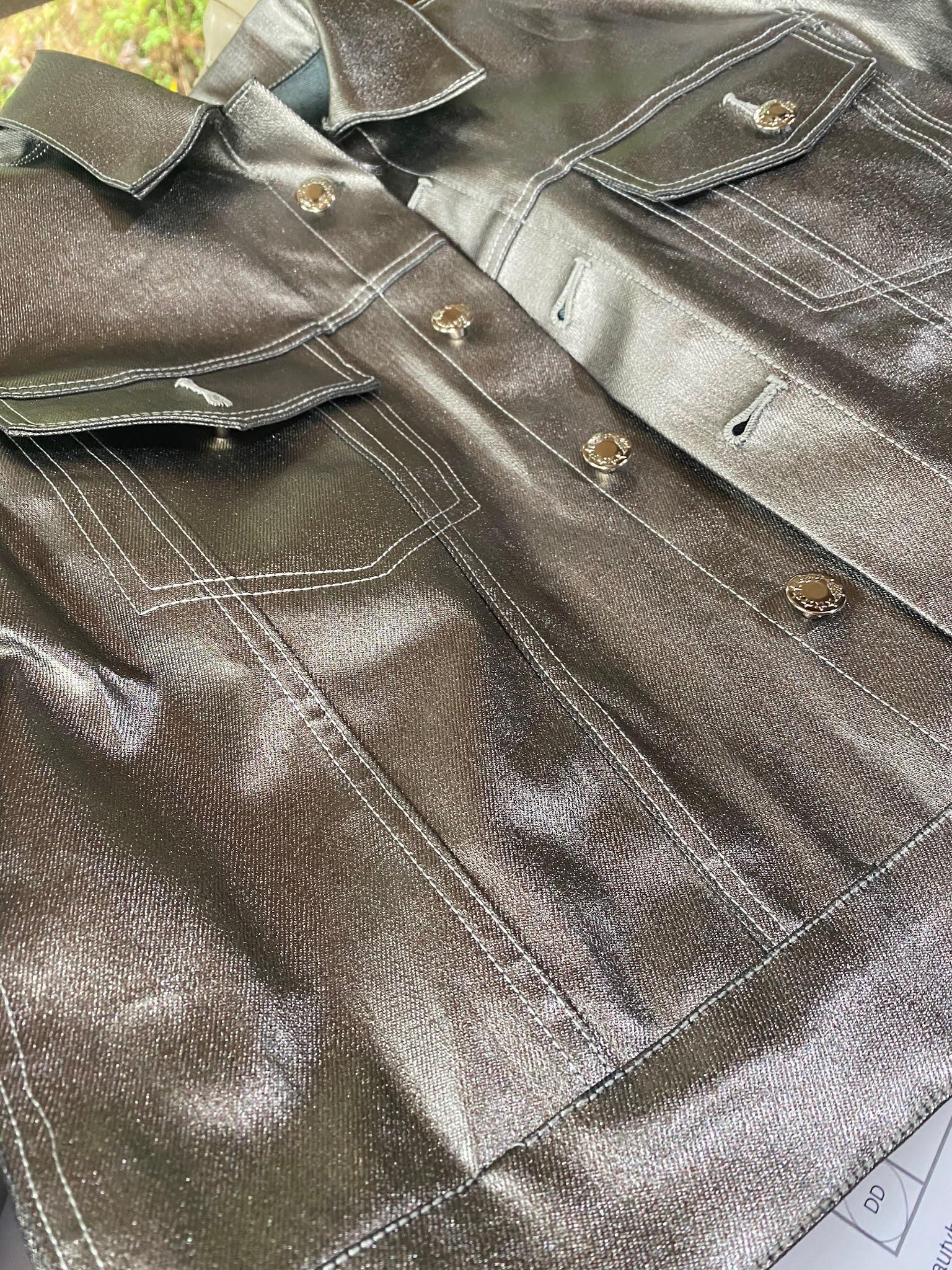 Silver Denim Jacket - Simplicity 8845