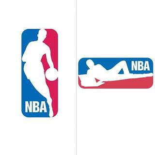 لوجو NBA في زمن الكورونا