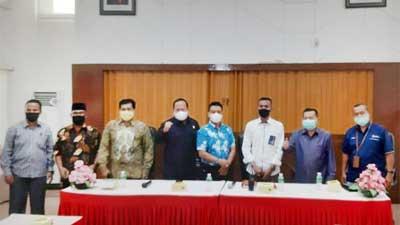 Komisi II DPRD Padang di Pelindo II Teluk Bayur