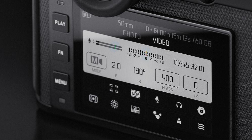 Основной экран Leica SL2