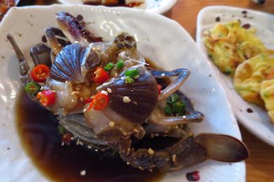 The Gogijip (고깃집,), ganjang gejang