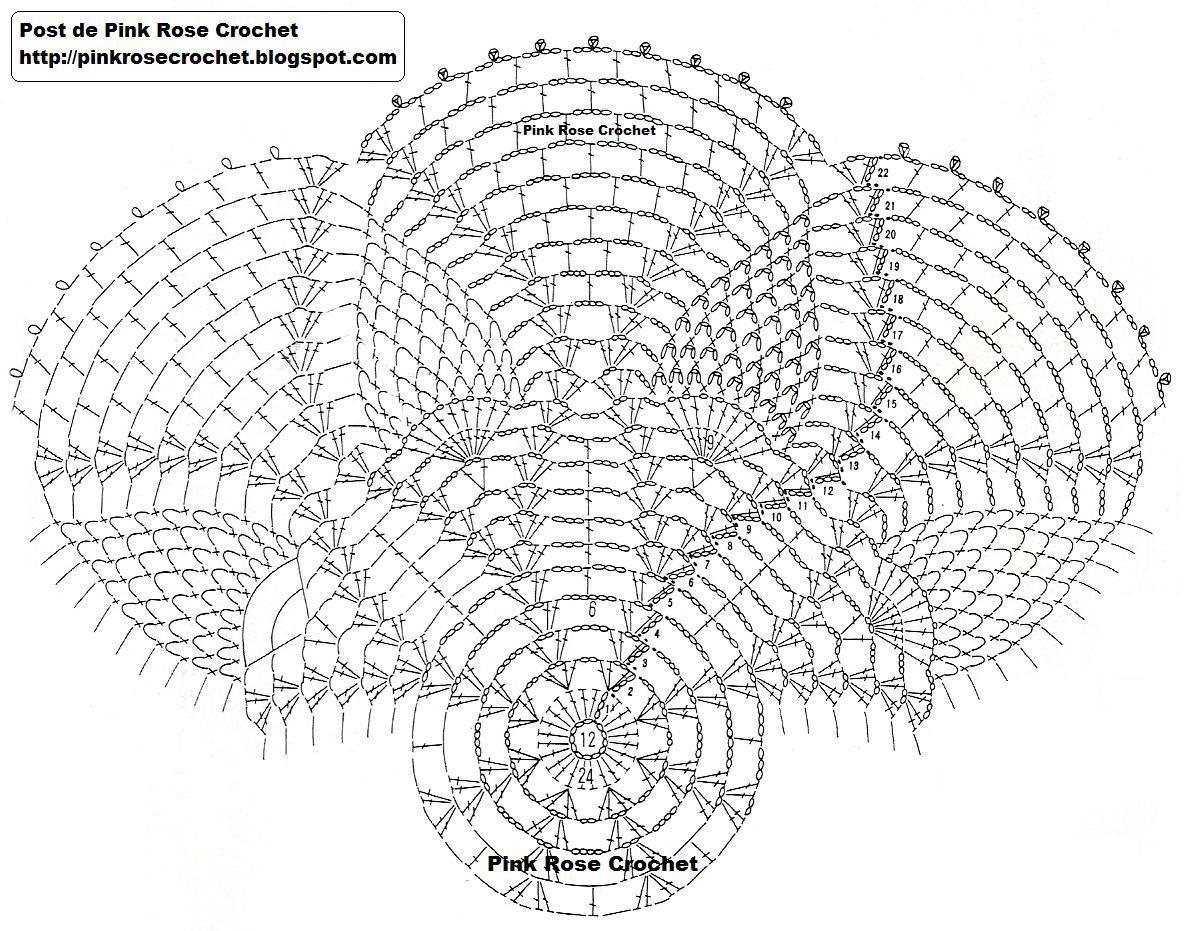 Crochet Cathy Soaps Serwetki W Ananski