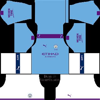 Download Kit DLS Manchester City FC