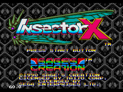 【MD】兵蜂X原版+按A鍵增加9個蜂+C鍵攻擊火力最強Hack版!