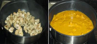 mushroom cooked