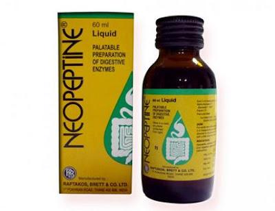 Men tiêu hóa Neopeptine là thuốc diều trị chướng bụng, ăn không tiêu