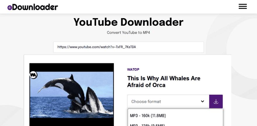 Odownloader簡單免費的線上服務,下載YouTube、Facebook視頻