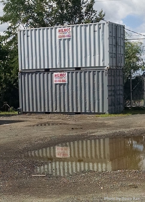 Best option for a shipping container