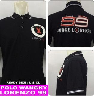 Baju Polo Lorenzo (Berkerah)