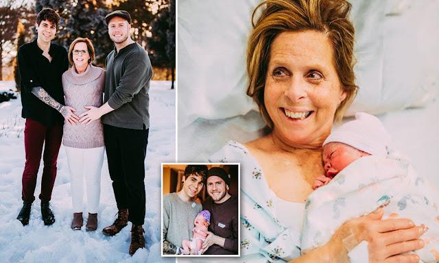 Женщина стала суррогатной матерью, чтобы выносить ребенка своему сыну