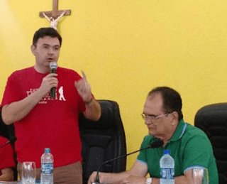 Raniery Paulino lamenta profundamente a morte do ex-deputado estadual Ivaldo Moraes