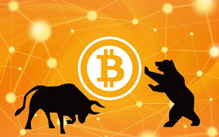 The bull and the bear for Bitcoin, Ripple, Ethereum,  Litecoin and other Cryptocurrencies