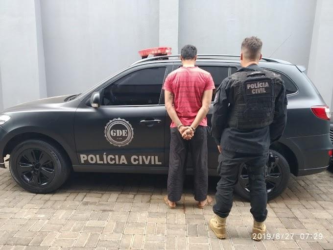 PM de Quedas e Polícia Civil de Laranjeiras prendem pai e filho acusados de estupro