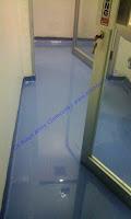 epoxy lantai berkualitas baik memberikan hasil ketahanan yang baik