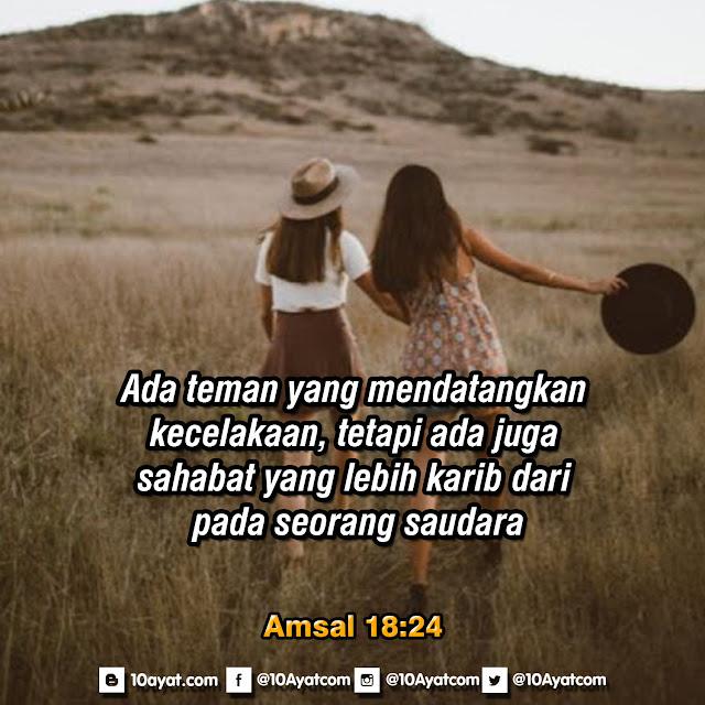 Amsal 18:24