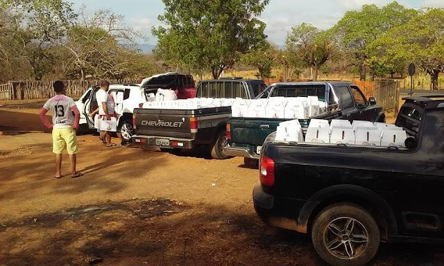 Natal solidário: Vicente Parente realiza distribuição de cestas básicas natalinas para as famílias Mucambenses