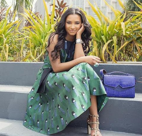 Temi Otedola offers staggering new photographs from her new venture