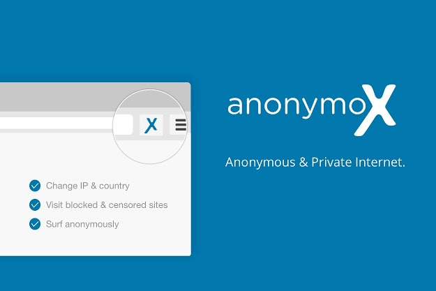 "anonymoX - Ένα δωρεάν και εύκολο στην χρήση ""VPN"" για τον υπολογιστή σας"