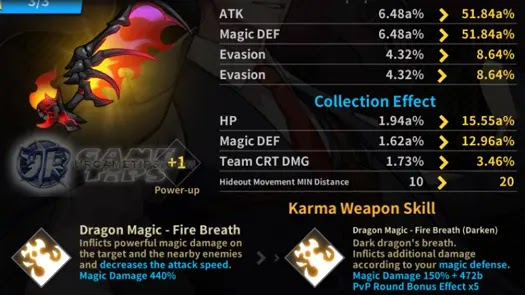 Lucid Adventure: Idle RPG - Heart Heater Blessed Karma Weapons 1