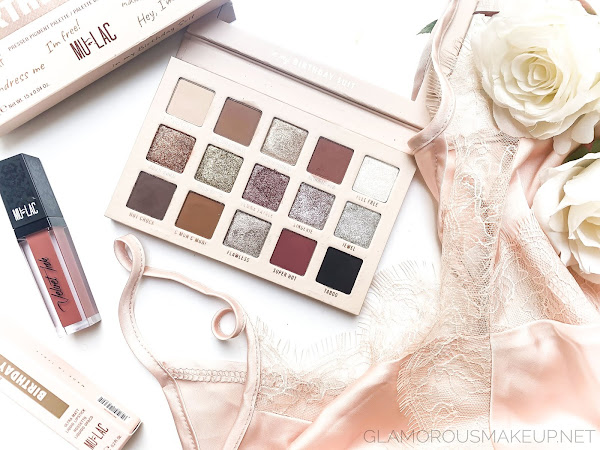 Mulac Cosmetics IN MY BIRTHDAY SUIT Palette - Review & Swatches