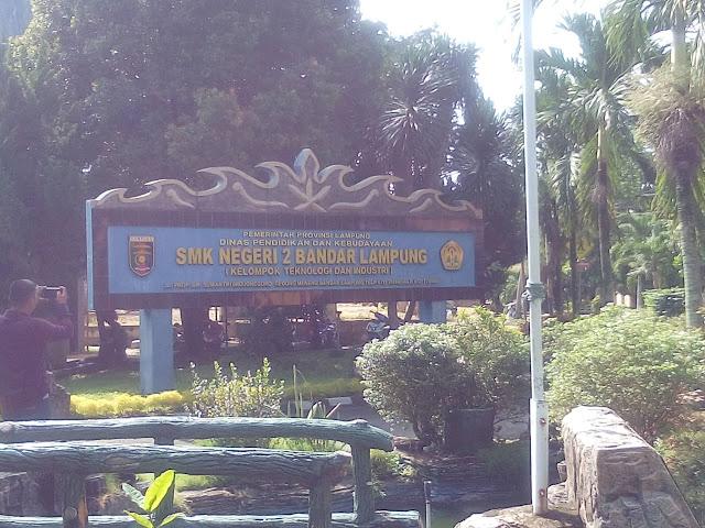 Meski Was-Was Corona, SMKN 2 Bandar Lampung Jalani UNBK Hari Terakhir dengan Lancar