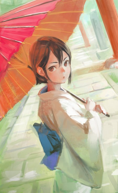 Arata Yokoyama NaBaBa deviantart arte ilustrações mulheres orientais fantasia