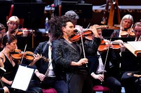 BBC Prom 4 - Nemanja Radulović, Bournemouth Symphony Orchestra (Photo Chris Christoulou)