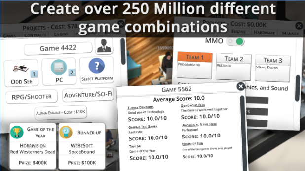 Game Studio Tycoon 3 Free MOD APK Unlimited Money v1.0.6 Download For Android