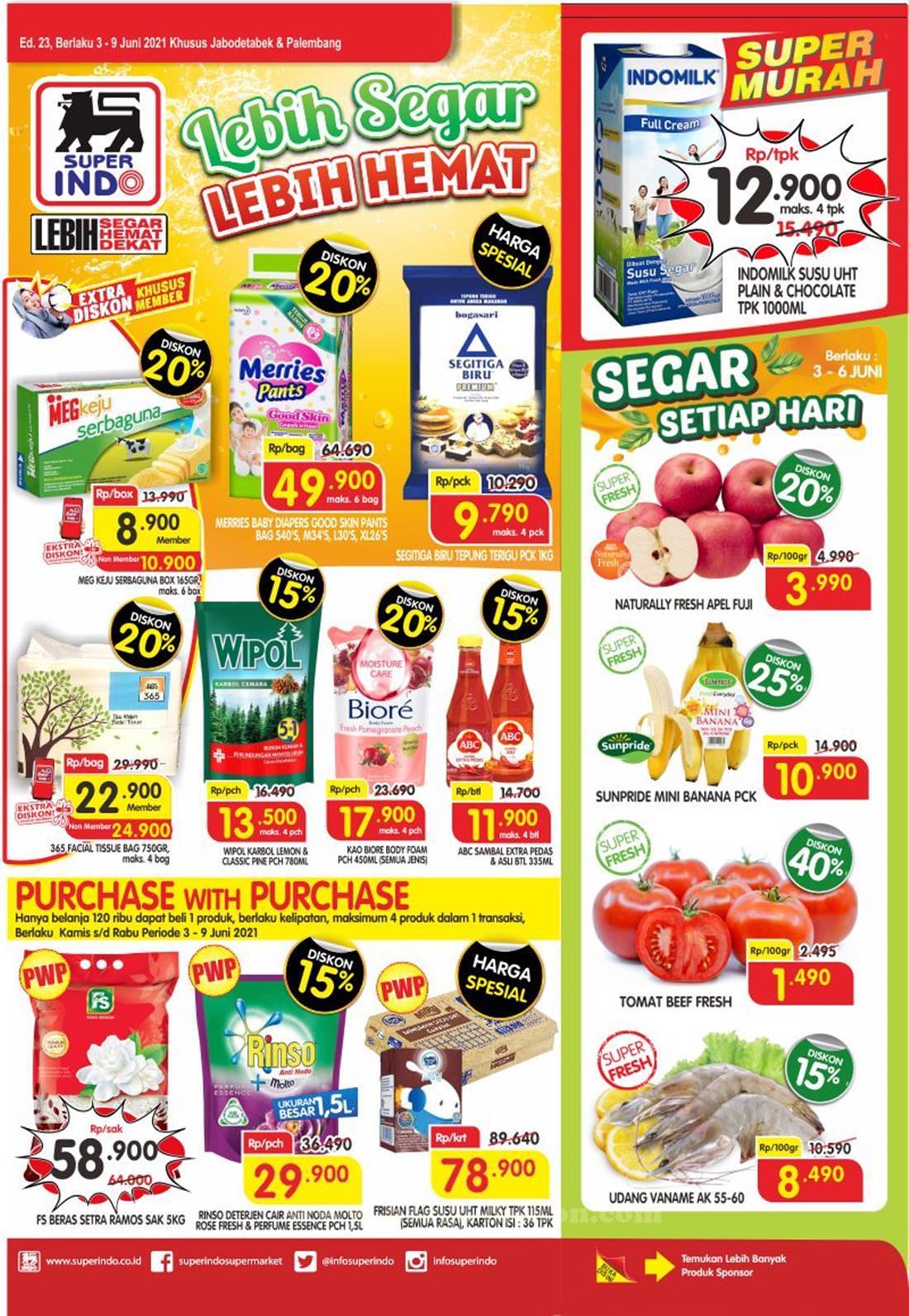 Katalog Superindo Promo Superindo Mingguan 03 - 09 Juni 2021