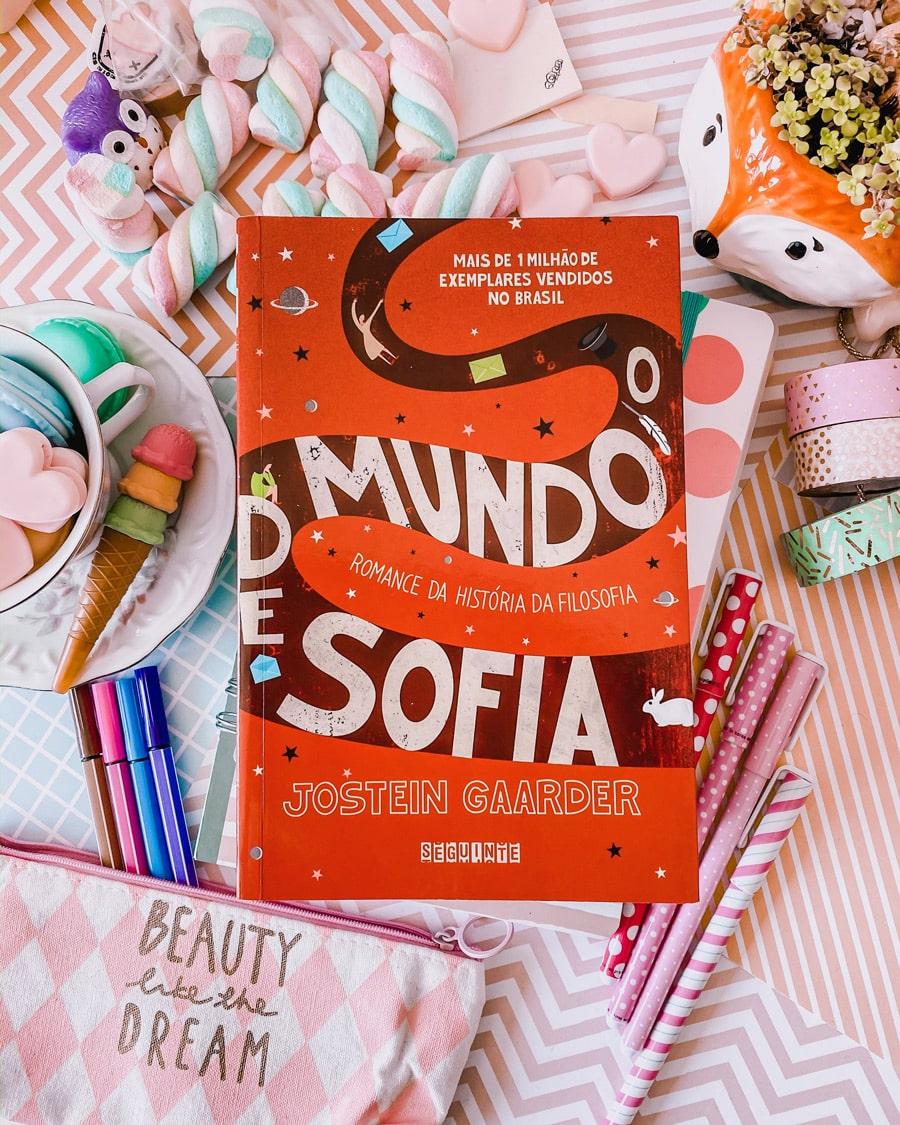 Vivendo Sentimentos: O Mundo de Sofia: Romance da História da ...