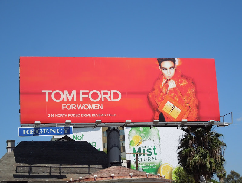 Tom Ford Women FW 2012 billboard